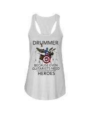 Drummer Ladies Flowy Tank thumbnail