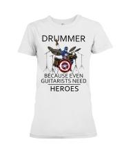Drummer Premium Fit Ladies Tee thumbnail