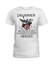 Drummer Ladies T-Shirt thumbnail