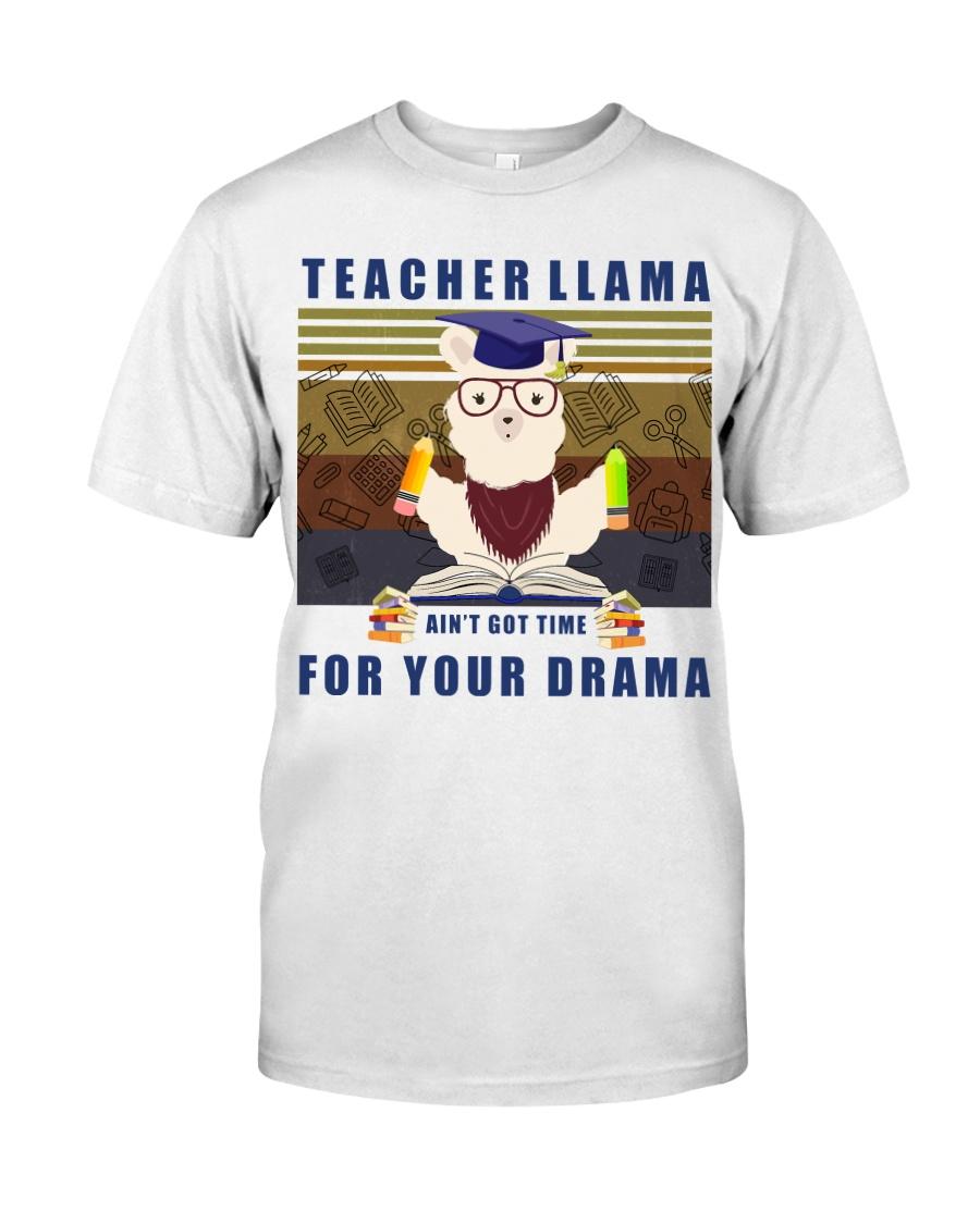 Teacher LLama Classic T-Shirt