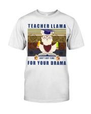 Teacher LLama Classic T-Shirt front