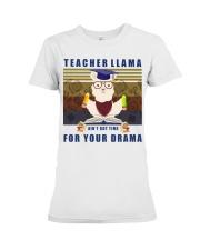 Teacher LLama Premium Fit Ladies Tee thumbnail