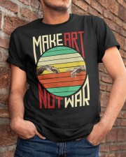 Make art Classic T-Shirt apparel-classic-tshirt-lifestyle-26