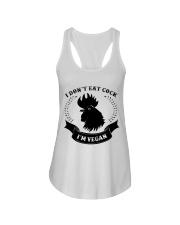I'm vegan Ladies Flowy Tank thumbnail