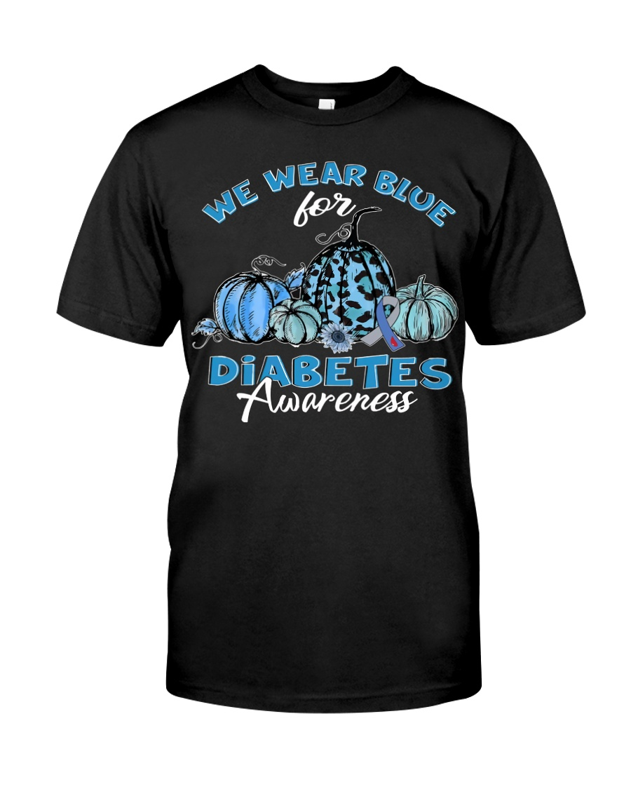 We wear blue Classic T-Shirt