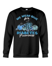 We wear blue Crewneck Sweatshirt thumbnail