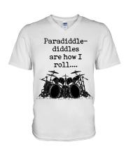 Paradidle V-Neck T-Shirt thumbnail