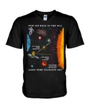 James Webb Space Telescope V-Neck T-Shirt thumbnail