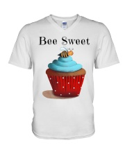 Bee sweet V-Neck T-Shirt thumbnail