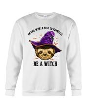 Be a witch Crewneck Sweatshirt thumbnail