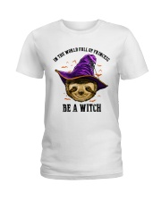 Be a witch Ladies T-Shirt front