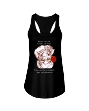 Rose are red Ladies Flowy Tank thumbnail
