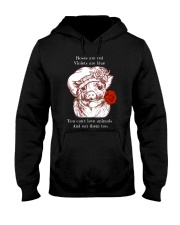 Rose are red Hooded Sweatshirt thumbnail
