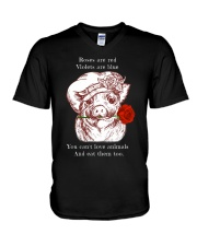 Rose are red V-Neck T-Shirt thumbnail