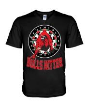 Bulls hitter V-Neck T-Shirt thumbnail
