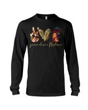 Peace love Melanin Long Sleeve Tee thumbnail