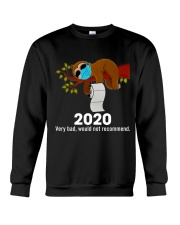 Sloth 2020 Crewneck Sweatshirt thumbnail