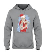 Santa claus Hooded Sweatshirt thumbnail