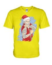 Santa claus V-Neck T-Shirt thumbnail