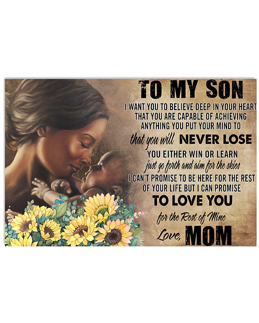 Love Mom 24x16 Poster
