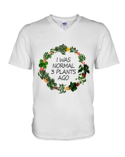 I was normal 3 plants ago V-Neck T-Shirt thumbnail