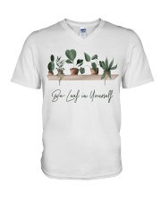Be leaf in yourself V-Neck T-Shirt thumbnail