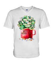 Water me mother succa V-Neck T-Shirt thumbnail