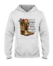 She can conquer the world Hooded Sweatshirt thumbnail