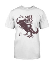 T rex hates to floss Premium Fit Mens Tee thumbnail