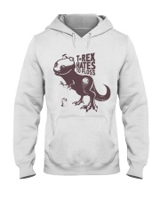 T rex hates to floss Hooded Sweatshirt thumbnail