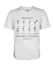 Such things V-Neck T-Shirt thumbnail
