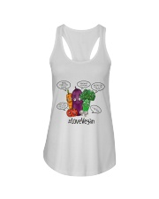 Love vegan Ladies Flowy Tank thumbnail