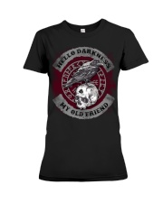 Hello darkness my old friend Premium Fit Ladies Tee tile