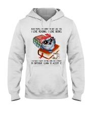 I love books Hooded Sweatshirt thumbnail