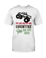 Country girls play with Trucks Premium Fit Mens Tee thumbnail