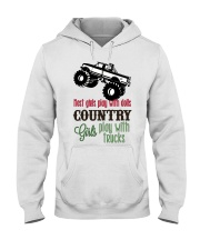 Country girls play with Trucks Hooded Sweatshirt thumbnail