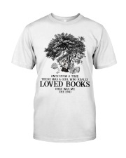 Loved books Premium Fit Mens Tee thumbnail