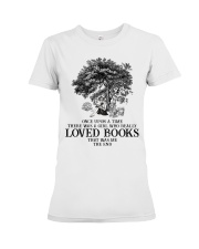 Loved books Premium Fit Ladies Tee thumbnail