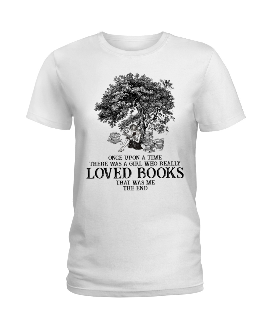 Loved books Ladies T-Shirt
