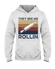 They see me rollin Hooded Sweatshirt thumbnail