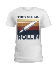 They see me rollin Ladies T-Shirt thumbnail