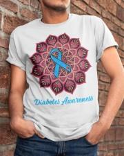 Diabetes awareness Classic T-Shirt apparel-classic-tshirt-lifestyle-26