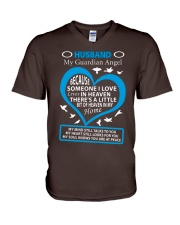 HUSBAND MY GUARDIAN ANGEL T-Shirt V-Neck T-Shirt thumbnail