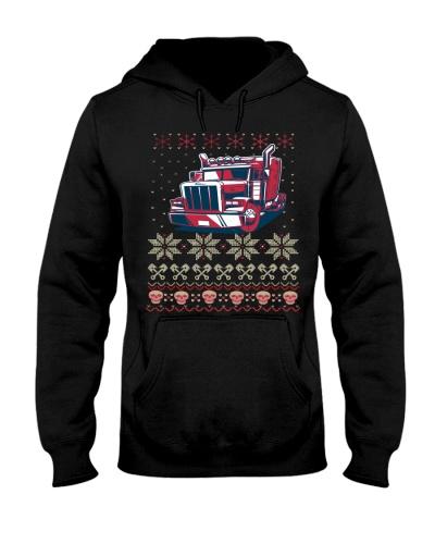 Ugly Christmas tractor Sweater Tee