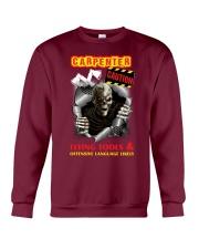 CARPENTER CAUTIO Crewneck Sweatshirt front