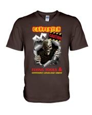 CARPENTER CAUTIO V-Neck T-Shirt thumbnail
