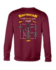 ELECTRICIAN TROUBLE SHOOTING GUIDE START T-Shirt Crewneck Sweatshirt thumbnail