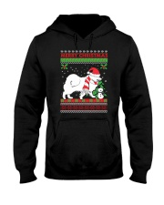 Samoyed Hooded Sweatshirt front