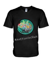 ANE Families Rock V-Neck T-Shirt thumbnail