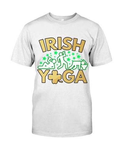 Saint Patricks Day Irish Yoga